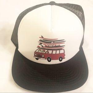Vans   Trucker Van and Surfboard Hat